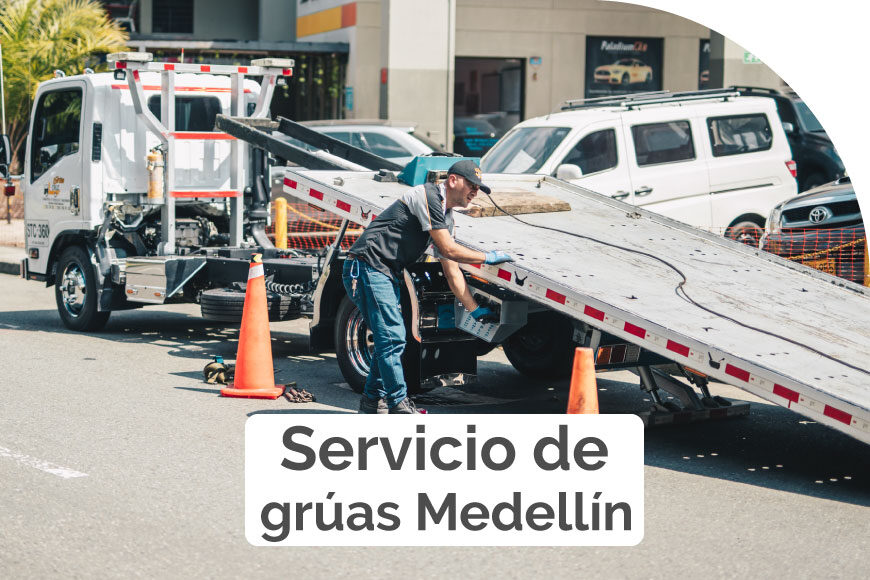 Servicio de grúas Medellín