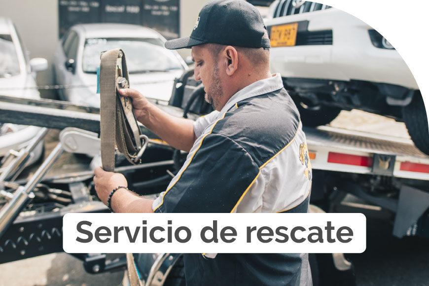 ¿De qué se trata el servicio de rescate?