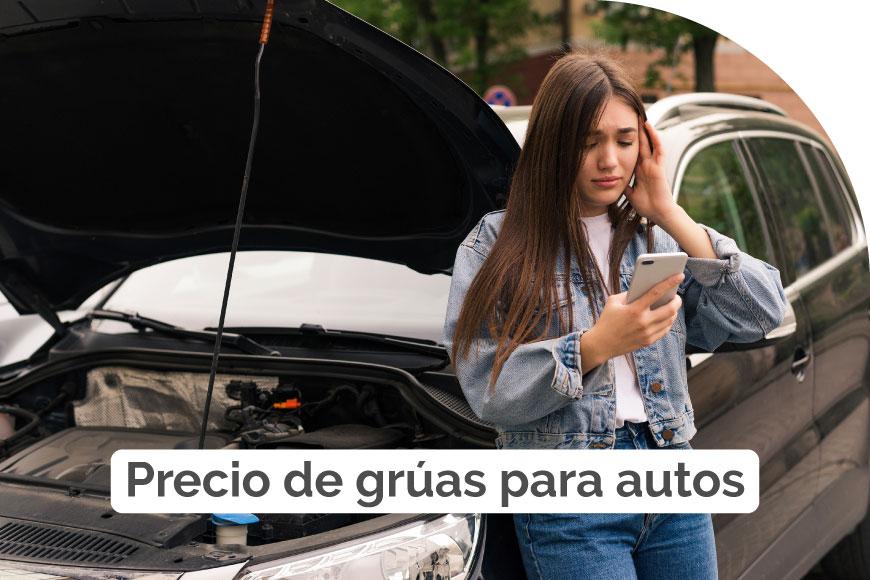 Precio de grúas para autos